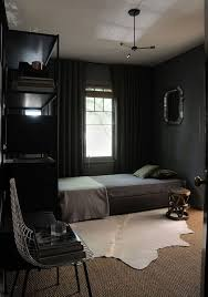 cozy blue black bedroom. Dark Bedroom Decor Inspiration / Sfgirlbybay Cozy Blue Black