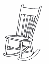 chair drawing. rocking chair drawing - 2017