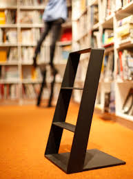end user who wanted a stool that was interesting and elegant enough to live in the kitchen and not in the closet the handle makes it easy to carry