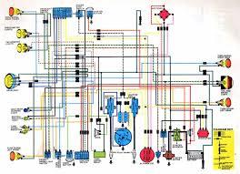 car wiring diagram page  honda cb cl350 k4 wiring