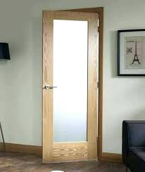 frosted glass interior french doors