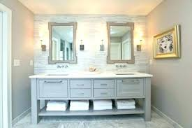 bathroom cabinets inspirational double sink vanity regarding plan cabinetry kraftmaid dimensions