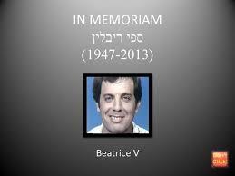 In Memoriam Sefi Riblin Authorstream