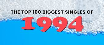 This article summarizes the events, album releases, and album release dates in hip hop music for the year 1994. The Top 100 Biggest Singles Of 1994 100 Songs