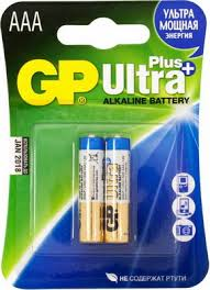 <b>Батарейка GP Ultra Plus</b> Alkaline 24AUP LR03 AAA (2шт) купить в ...