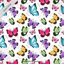 Butterfly Pattern Interesting Butterflies Seamless Vectors Photos And PSD Files Free Download