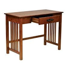 designed for functionality and timeless appeal this mission style desk is built of solid