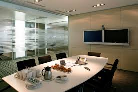 awesome meeting room interior in the office modern meeting room with glasses