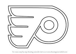 Flyers Logo Pictures Learn How To Draw Philadelphia Flyers Logo Nhl Step By