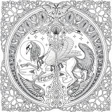 Small Picture Advanced Mandala Coloring Pages Celtic Mandala On Pinterest