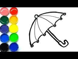 Gambar kartun muslimah, gambar kartun muslim dan karakter kartun populer lainnya. Cara Menggambar Dan Mewarnai Payung Cantik Mudah Untuk Anak Anak Cara Menggambar Warna Payung