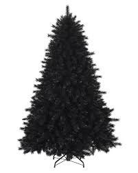 Treetopia - Pitch Black Artificial Christmas Pine Tree #BlackChristmas.  rollover to zoom in