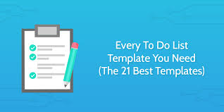 template list every to do list template you need the 21 best templates process
