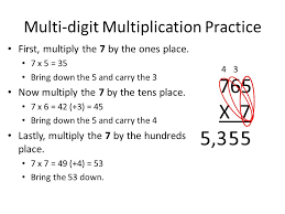 Monday, October 27th Math Homework Multiplication worksheet ...