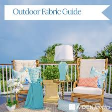 outdoor fabric guide