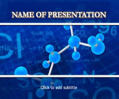 Medicinal Chemistry Free Powerpoint Template For Presentations