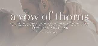 The Vow Quotes Mesmerizing A Vow Of Thorns Blackest Gold 48 By R Scarlett