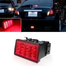 2006 Pontiac G6 3rd Brake Light For 11 16 Wrx Sti Xv F1 Style Red Lens Red Led Flasher 3rd