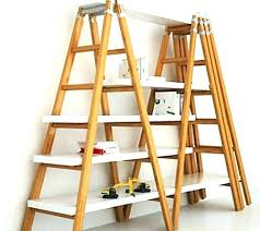 antique ladder shelf rustic ladder bookcase bookcase wood ladder shelf wooden ladders within wooden ladder shelves antique ladder shelf