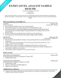 Financial Analyst Resume Objective Financial Analyst Resumes 38