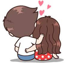 Cute Couple Png Shy Drawing Cute Couple Transparent Png Clipart Free