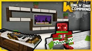 Minecraft Living Room Furniture Minecraft Modern Living Room Furniture With Only One Command