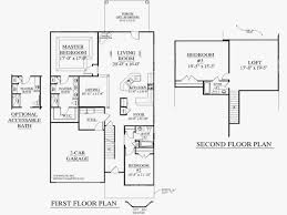 2 story simple floor plans with dimensions. Wonderful Simple Small House Plans With Loft And Garage Awesome Simple 3 Bedroom Floor Hou To 2 Story Dimensions S
