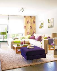 Purple And Green Living Room Decor Livingroom Cute Living Rooms House Exteriors