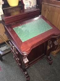 antique mahogany large home office unit. Lovely Vintage Carved Mahogany Davenport Desk Captain\u0027s Ship Writing Antique Large Home Office Unit