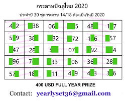 Thai Lotto Yearly Paper 30 Set 2020 – Thai Lottery Free OR VIP TIP WEB    Lottery, Lottery tips, Lottery results