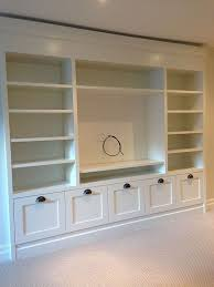 wall units custom built ins