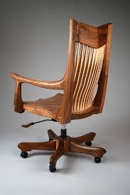 wooden swivel office chair. Wooden Swivel Office Chair L