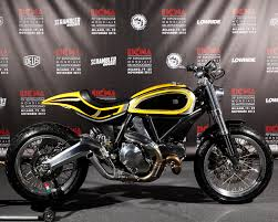 custom ducati scrambler by radikal chopper tracker trux