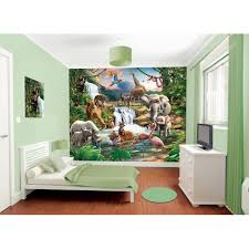 bedroom in a box jungle adventure wall mural u0026amp paint kit bedroom in a box 216