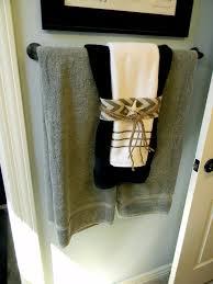 hand towel decor