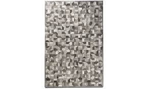 leather rugs quarter rug rectangular grey leather