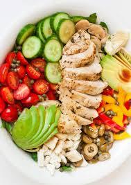 chicken salad. Interesting Salad Italian Chicken Salad With Red Wine Vinaigrette Inside C