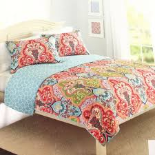 details about better homes and gardens quilt collection jeweled damask size full queen