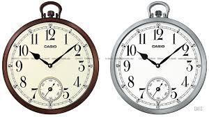 casio iq 66 ogue wall clock pocket watch look small second
