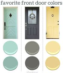 exterior door paint finish. finding the perfect front door color can be tricky. here are some of my favorites exterior paint finish
