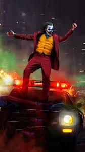 Joker vs Police iPhone Wallpaper ...