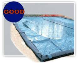 winter pool covers. WINTER POOL COVERS Solid Weave Pool Cover For In-Ground Rectangle Or Dimensional Swimming Pools Features Include: Winter Covers