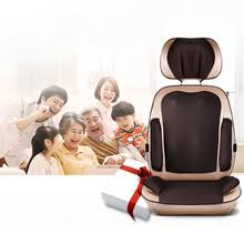 massage chair pad. cervical back massage device neck chair pad waist full-body multifunctional household massager mat cushion r
