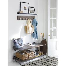 Crate And Barrel Wall Coat Rack Extraordinary Leigh Wall Mounted Coat Rack Furniture Pinterest 32x32 Picture