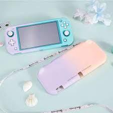 Vỏ Bảo Vệ Màu Chuyển Sắc Cho Nintendo Switch Lite PC Vỏ Cứng Máy Chơi Game  NS Lite Phụ Kiện Chuyển Đổi Lite