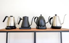 You can always find the right model for you. Equipment Report Digital Electric Gooseneck Pourover Kettles Coffee Review