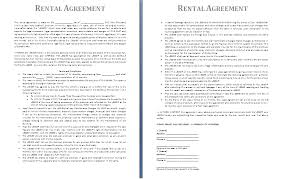 sample rental agreement letter basic sample of rental agreement template with paragraph format