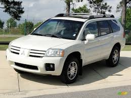 Dover White Pearl 2004 Mitsubishi Endeavor Limited Exterior Photo ...