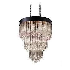 rh teardrop glass chandelier an industrial lighting design on dezignlover com