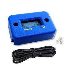 leoboone <b>Waterproof Digital LCD</b> Display Hour Meter for Marine ...